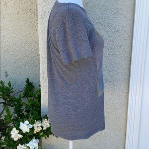 Coachella Tops - Coachella Grey Washed T Shirt Women's Size L